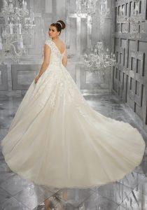 Prinzessinnen Stil mit Träger - Brautkleider Weiden