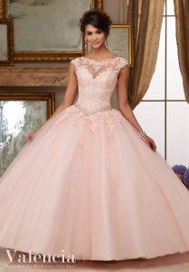 Prinzessinnen Stil - blush- Brautkleider Weiden