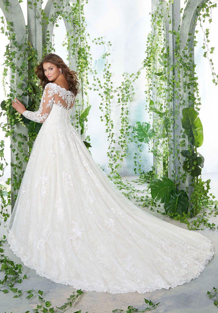 Prinzessinnen Stil mit arm - Brautkleider Weiden