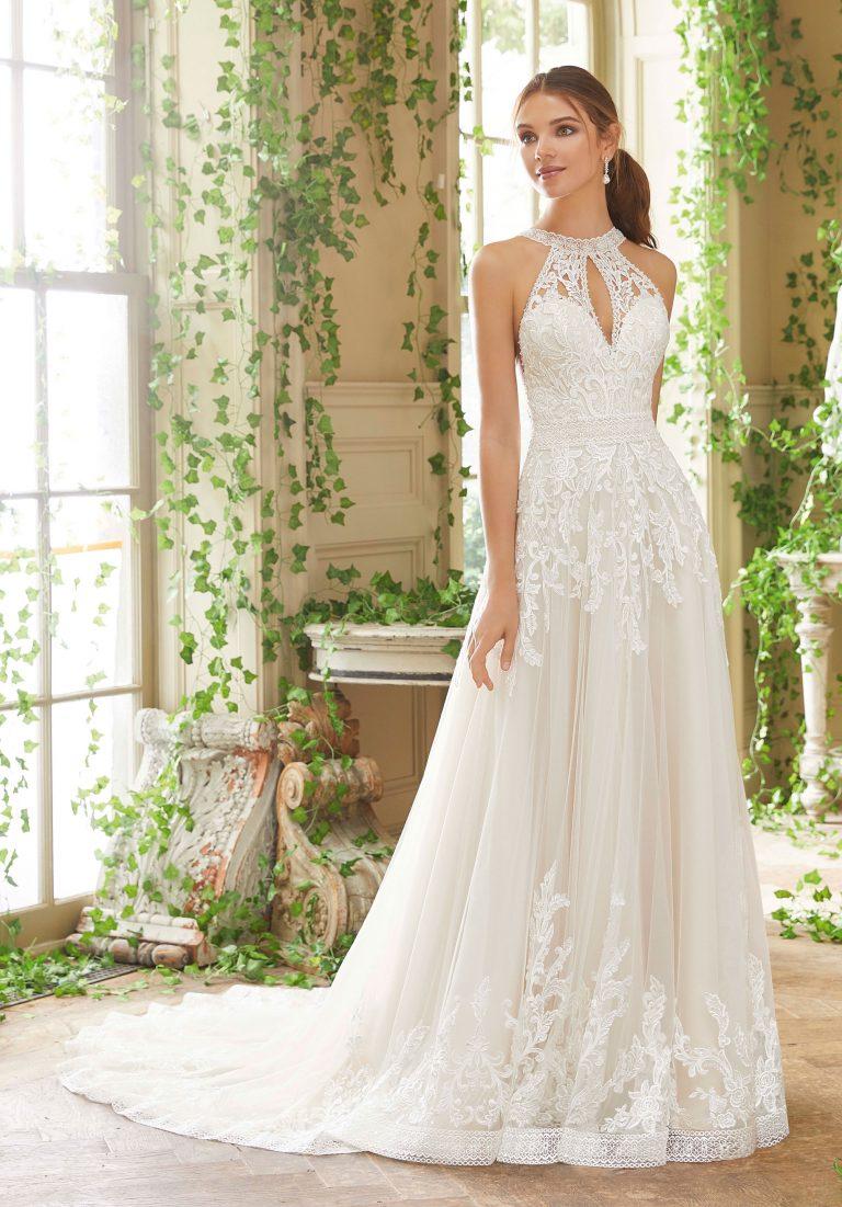 Brautkleider Weiden mit Spitze