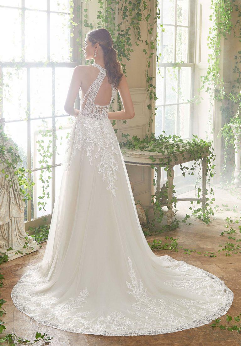 Brautkleid Ivory mit Spitze
